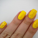 31 Day Challenge - Yellow Nails - 03. DAY