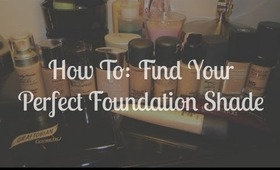 How To: Find Your Perfect Foundation Shade