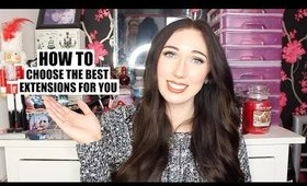 How To Choose The Best Extensions for You! | Chloe Luckin