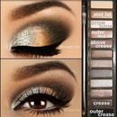 smokey eye/ naked look