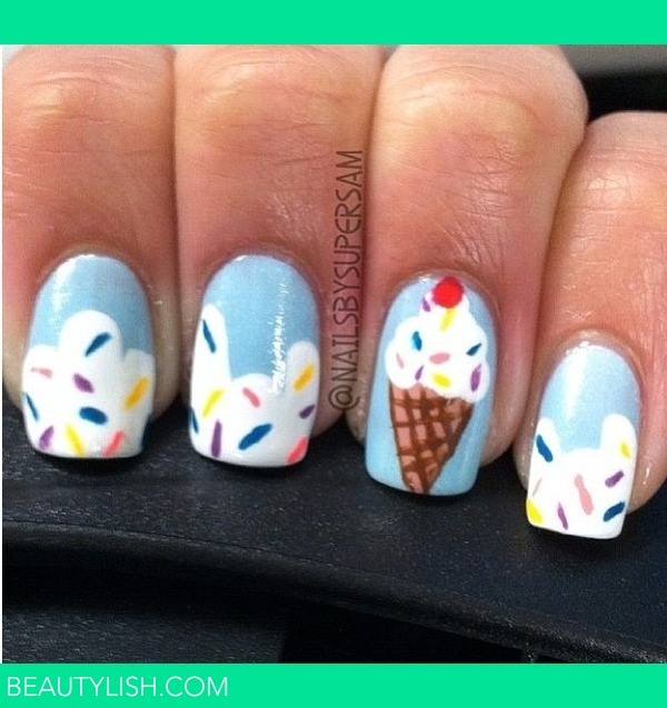 Ice Cream Nails: Lauren G.'s Photo