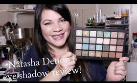 NATASHA DENONA GREEN BROWN SHADOW 28 PALETTE REVIEW | SWATCHES