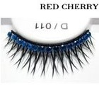 Red Cherry Shimmer & Feather Lashes - D011
