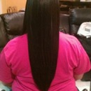 Full Head Extensions ,Cut And Style