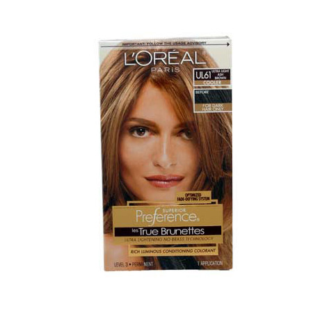 Loreal Preference True Brunettes Ultra Light Ash Brown Ul61 Ulta ...