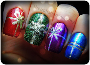 12 Days of Christmas: Presents. http://www.thepolishedmommy.com/2012/12/presents.html