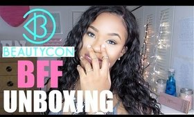BEAUTYCON BFF FALL UNBOXING (TRY-ON & DEMO) | BEAUTYBYGENECIA