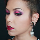 Inspired Pink and Purple Brightness Tutorial
