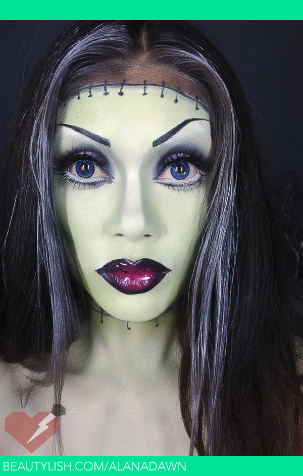 Frankenstein Halloween Makeup Alana D S Alanadawn Photo Beautylish