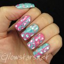 Pastel leopard print and stars
