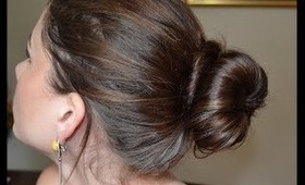 Back To School: Perfect Bun Hair Style DIY