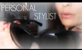 ASMR ~ PERSONAL STYLIST ROLE PLAY ~ Up Close Whispering & Soft Sounds ~