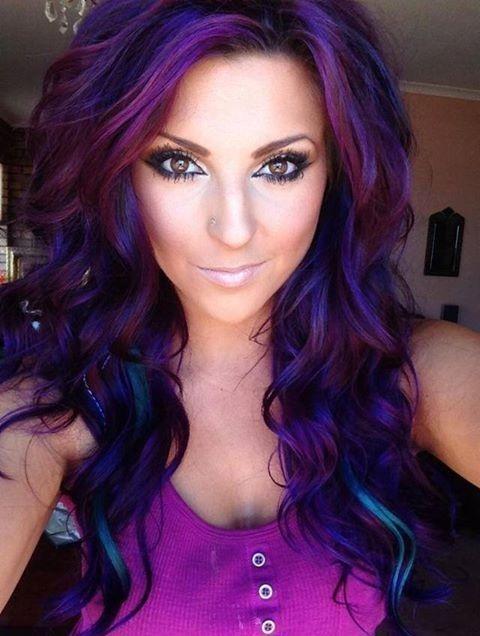 Purple Hair!!!   Najar...