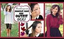 Thanksgiving Makeup, Hair + Outfit Ideas! 2014