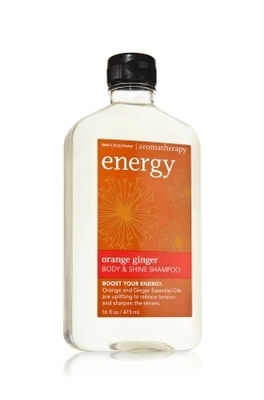 bath and body orange ginger shampoo