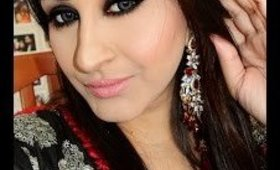 EID SERIES #3 : Black Smokey Eyes
