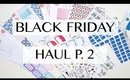 Black Friday Haul Part 2 | Glam Planner, OWC, Nicole Alexia