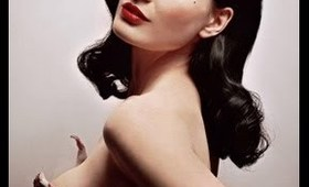 Dita Von Teese Makeup Tutorial