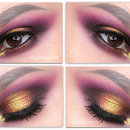 Gold Smokey Eye Tutorial