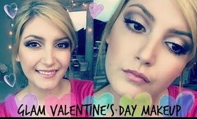 Glam Valentine's Day Makeup