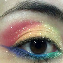 Pride Makeup/ Rainbow Eyes
