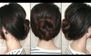 258 - Knotted Bun Updo [Under 2 Minutes]