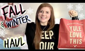 Fall/Winter Clothing Haul! Urban Outfitters, American Eagle, Old Navy + More!