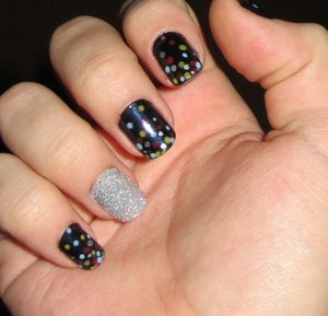 Different Nail Polish On Ring Finger