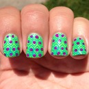 Peacocks on Crack Nails