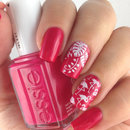 Essie Watermelon and Flamingo Design