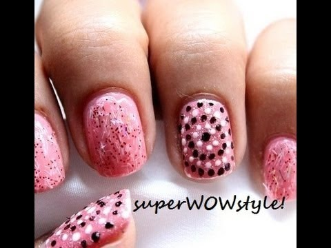Toothpick Nail Art Designs - Using No Tools | SuperWowstyle Video