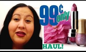99 Cent Store Only Makeup Haul!