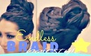 ★TAKES-FOREVER BRAID! UPSIDE DOWN FRENCH, CROWN BRAID SOCK BUN TUTORIAL HAIRSTYLES FOR LONG HAIR