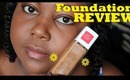Revlon Nearly Naked Foundation Review + Demo