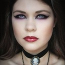 Gothic makeup by Potion