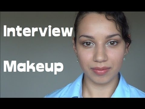 Interview makeup
