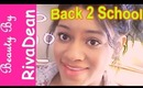Back 2 School 2013: Middle School Makeup Tutorial! (Beginners)