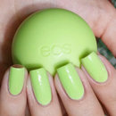 China Glaze Be More Pacific x eos Honeysuckle Honeydew