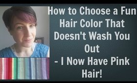 Watch Me Go From Brown to Pink Hair - How to - Fun Hair Colors That Will Never Wash You Out | Pink Hair | Best Hair Color for Skin Tone