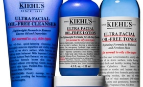 Kiehl's New Ultra Facial Oil-Free Collection