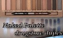 Naked Palette Drugstore Dupes