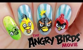 ANGRY BIRDS NAIL ART TUTORIAL