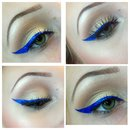 Nyx electric blue eyeliner