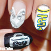 Taylor Swift - Shake it Off! Inspired Nail Art