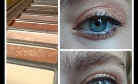 Pretty Back to School Makeup using Urban Decay's NAKED 2 Palette