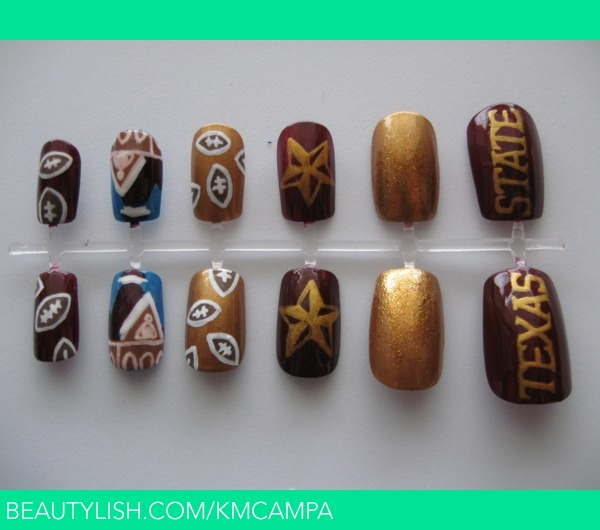 Texas State University Nails Kasey C S Kmcampa Photo