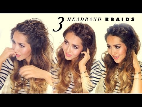3 Easy Peasy Headband Braids Quick Hairstyles For Short Long