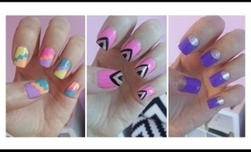 Easy Nail Art For Beginners!!!