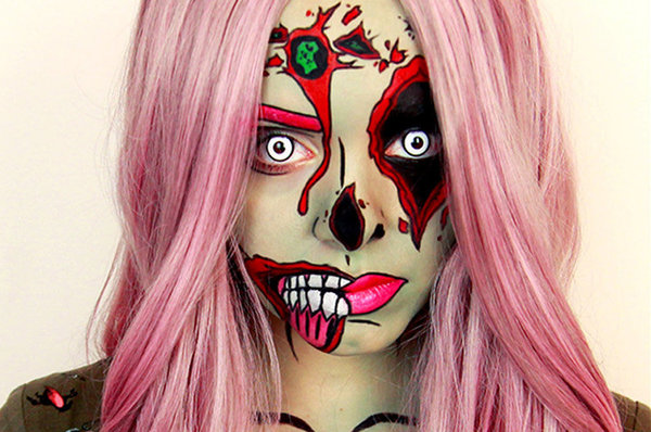 Last Minute Halloween Makeup Ideas | Beautylish