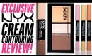 New NYX Cream Contouring REVIEW!